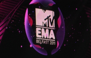 MTV Music Awards, Belfast, 6.11.11