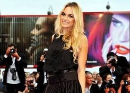 Emanuela Postacchini wears IRFE at the Venice Film Festival